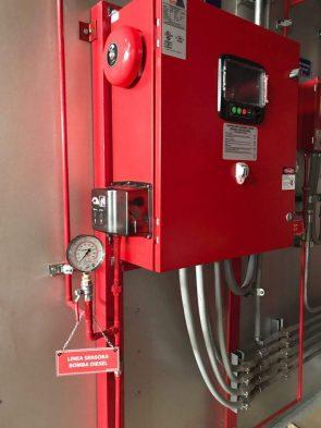 controlador de bomba contra incendios